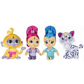 4-Pack Shimmer & Shine Stuffed Animals Plush Plush Soft Ice 30cm