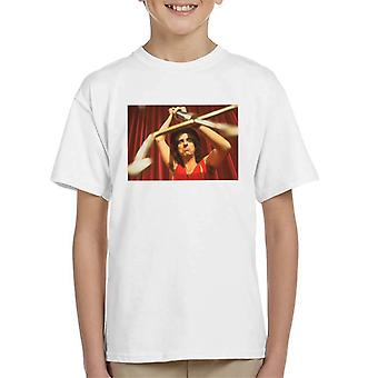 TV Zeiten Alice Cooper Trident Kinder T-Shirt
