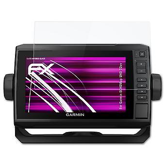 protetor de vidro atFoliX compatível com Garmin ECHOMap UHD 72cv 9H Vidro Híbrido