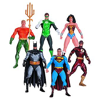 Justice League Action Figures 6 Pk (Alex Ross)