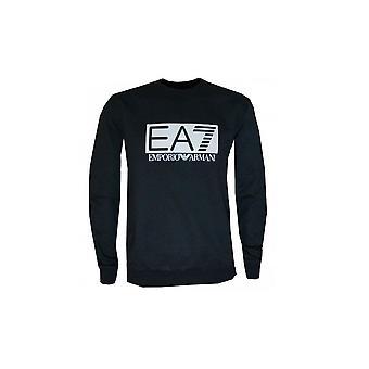 EA7 Män's svarta tröja