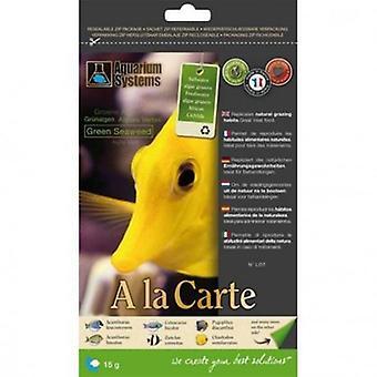 Aquarium Systems Green algae - A La Carte - About 15 Grs (Fish , Food , Warm Water)