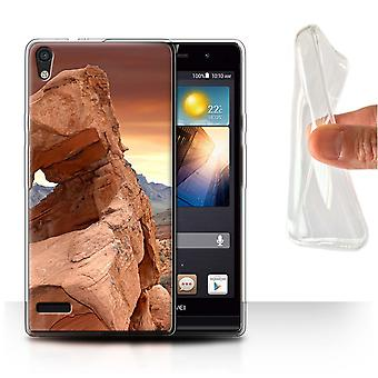 STUFF4 Gel TPU Case/Cover for Huawei Ascend P6/Valley/State of Nevada