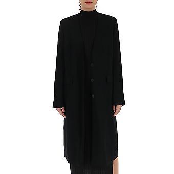 Ann Demeulemeester 1106170099 Donne's Cappotto di lana nera