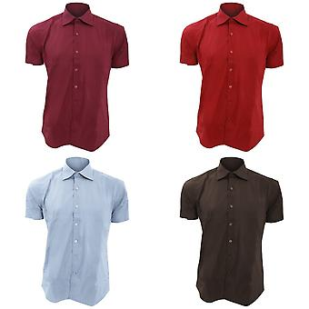 SOLS Mens Broadway Short Sleeve Fitted Work Shirt