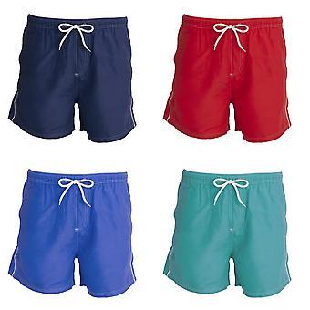 Tom Franks Hommess Contrast Pipe Swim Shorts