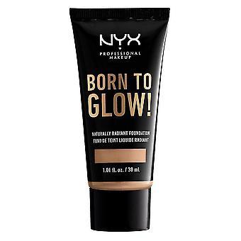 NYX Born To Glow Naturally Radiant Foundation 30ml - Medium Olive