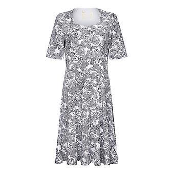 TIGI ホワイト フローラル プリント ドレス