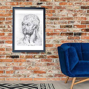 William Blake - Visionary Head of Owen Glendower Poster Print Giclee