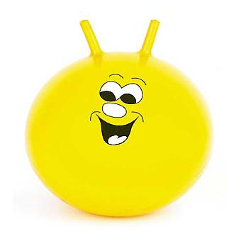 Toyrific 20-quot; Jump 'apos;N'apos; Bounce Yellow Space Hopper