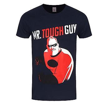 Incredibles 2 Unisex Adults Mr Tough Guy Design T-Shirt