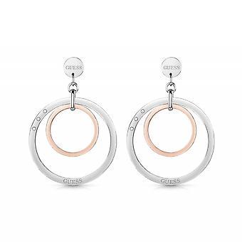 Devinez UBE29025 Women-apos;s Eternal Circles Large Hoop Earrings