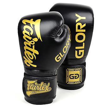 Fairtex X Glory Gants de boxe Noir / Or
