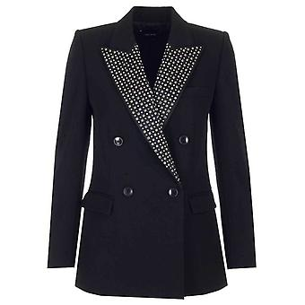Isabel Marant Ve126020p014i01bk Women's Black Wool Blazer
