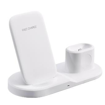 Portabatterie caricabatterie 3 in 1 qi wireless caricabatterie caricabatterie per smartphone con qi-enabled per iphone apple watch serie airpods