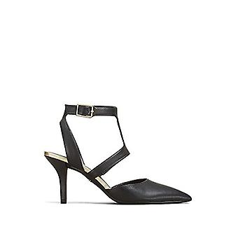 Kenneth Cole New York Women's Leather Laird T-Strap Pump