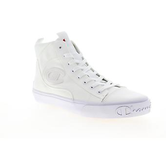 Champion Metro HI  Mens White Canvas Lace Up High Top Sneakers Shoes