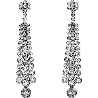 Diamond earrings earrings - 18K 750/- white gold - 2.56 ct. - 2H344W8-1