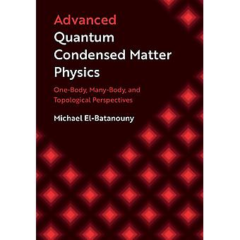 Advanced Quantum Condensed Matter Physics OneBody ManyBody and Topological Perspectives par Michael ElBatanouny
