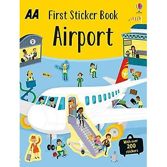 First Sticker Book Airport - 9780749581541 Book