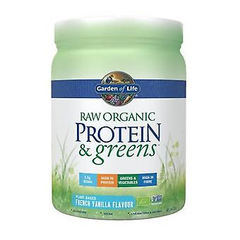 Garden Of Life Raw Organic Protein & Greens Vanilla 411g (1297)