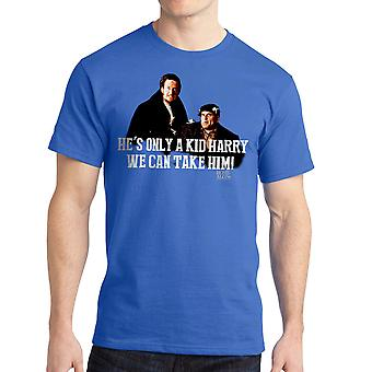Home Alone We Can Take Him Quote Men's Royal Blue T-shirt