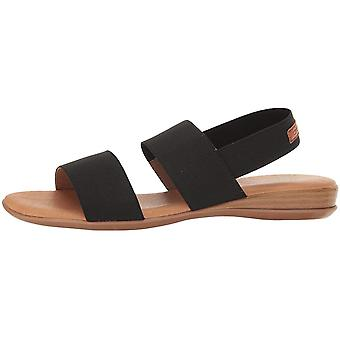 André Assous Womens Nigella Open Toe Casual Slingback Sandals