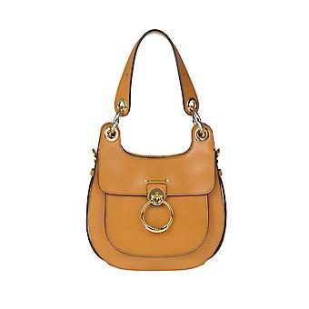 Chloé Ezgl079039 Women's Brown Leather Shoulder Bag