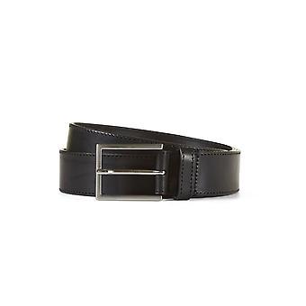 Leather belt matthew black