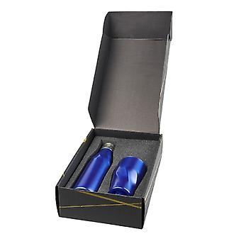 Avenue Hugo koppar vakuum isolerad flaska och Tumbler gift set