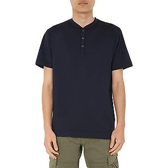 C.p. Company 08cmts155a00044g888 Männer's Blaue Baumwolle T-shirt