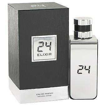 24 Platinum Elixir Eau De Parfum Spray By ScentStory 3.4 oz Eau De Parfum Spray