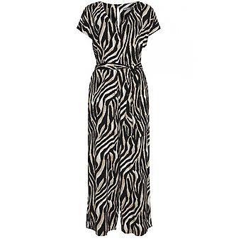 b.young Zebra Print buksedragt