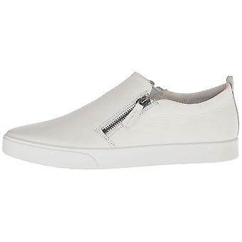 ECCO Womens Gillian Leather Low Top Zipper Fashion Sneakers