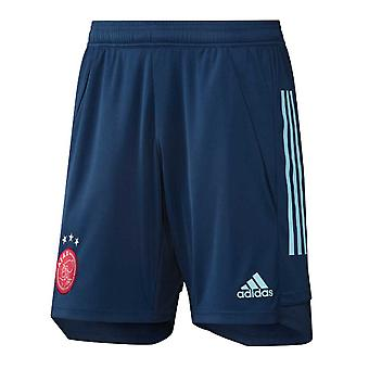 2020-2021 Ajax Adidas Trening Shorts (Navy) - Barn
