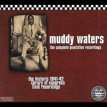 Muddy Waters - Muddy Waters: Complete Plantation Recordings [CD] USA import