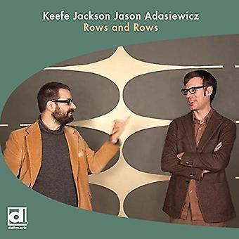 Jackson, Keefe & Adasiewicz, Jason - importación de los E.e.u.u. filas y filas [vinilo]