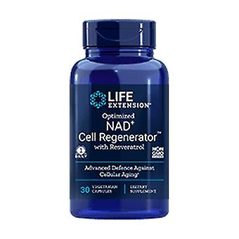 Optimized NAD+ Cell Regenerator™ and Resveratrol, 300 mg 30 vegetable capsules