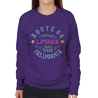 Route 66 LA Beach Wear Women's Sweatshirt