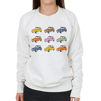 Citro�n Vintage 2CV Colours Women's Sweatshirt