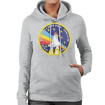 NASA STS Atlantis 27 divisa misión mujeres camiseta de encapuchados