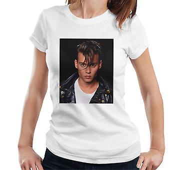Cry Baby Johnny Depp Photo Women's T-Shirt