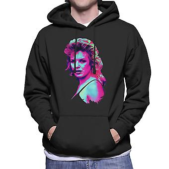 TV Times Kim Wilde 1983 Pop Art Gestileerde Men's Hooded Sweatshirt