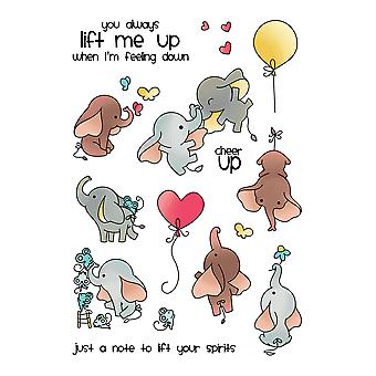 LDRS Creative Up and Away Clear Stamps