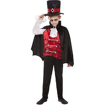 Vampyyri puku lapsi musta