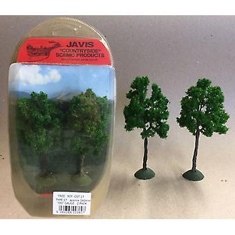 Countryside Trees Type 17 - 2 x 140mm OO Gauge