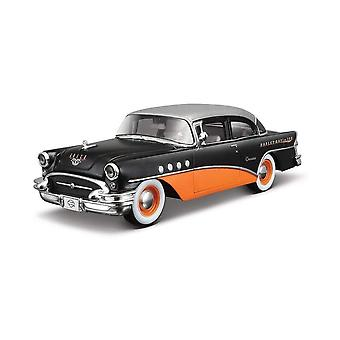 Maisto Harley Davidson 1955 Buick Century Black & Orange 1:26 Car
