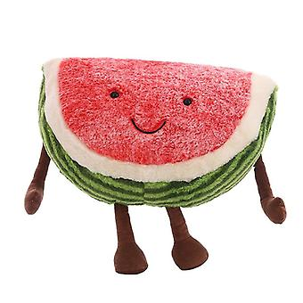 Cute Watermelon Pluche - Doll Gevulde Plant, Fruits Pillow Soft Speelgoed