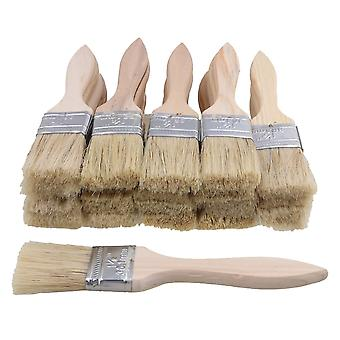 20pcs Wooden Handle Painting Brush 1.5 inch