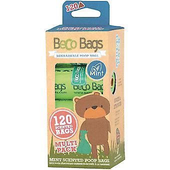 ベコ バッグ ミント 香り 120 マルチ (8x15)